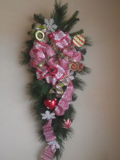 Christmas Swag by LPholidays - SOLD - 75.00 - Spaz