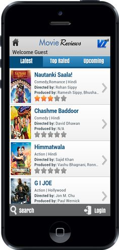 Moview Review Android App, Free To Download, Developed By Vivacity InfoTech Pvt. Ltd.