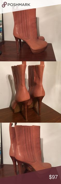 NWOT never worn Gianni Bini ankle boots. Perfect condition, never worn #nwot Gianni Bini Shoes Heeled Boots