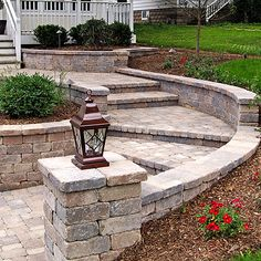 front steps. nice shape. good example of what can be done with economical and…