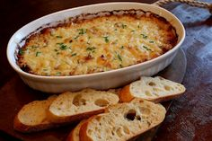 Caramelized Onion, Gruyere and Bacon Dip