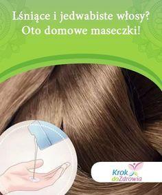 Lśniące i jedwabiste włosy? Oto domowe maseczki!   Miękkie i jedwabiste włosy to marzenie każdej kobiety. Jednak życie w mieście, zanieczyszczenia pochodzące z ruchu ulicznego i stres niszczą ich piękno. Beauty Tips, Beauty Hacks, Diy, Beauty Tricks, Bricolage, Do It Yourself, Beauty Secrets, Homemade, Diys