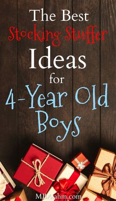 These stocking stuffers for old boys are the best gifts for boys that you can find for this Christmas! Great for gift ideas or old stocking stuffers! 4 Year Old Christmas Gifts, Christmas Stocking Fillers, Christmas Time, Christmas Ideas, Christmas Boxes, Christmas Decorations, Family Christmas, Christmas Shopping, Xmas