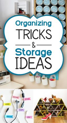 Check out these organization tips to keep every room in your home tidy and clutter-free