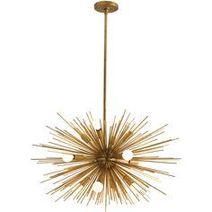arteriors zanadoo 12l iron chandelier - zincdoor.com #zincdoor #fanfave