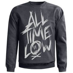 Scratch Crewneck Sweatshirt -All Time Low Merch I want this so bad.