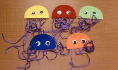 under the sea crafts   Jellyfish Craft Preschool