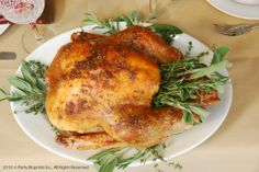 Grandpa's Smoked Turkey on the Grill - recipes and instructions #plantoparty #Thanksgiving