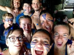 """Camp Olympic team Lions AKA """"The Lannisters"""" all dressed up and ready for war. Wolves won though. GO JON SNOW! Environmental Research, Volunteer Programs, Olympic Team, Gap Year, Travel Abroad, Island Life, Wolves, Lions, Jon Snow"""