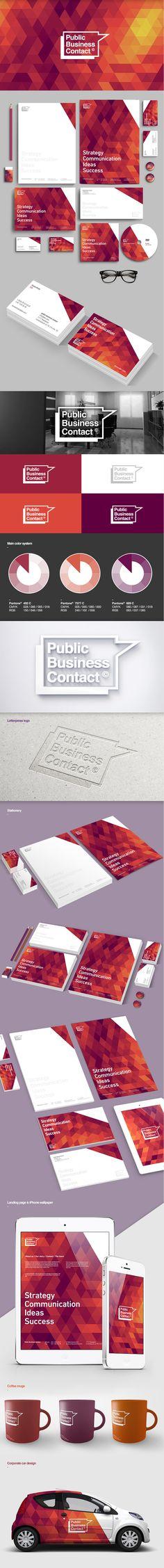 PBC© corporate identity concept