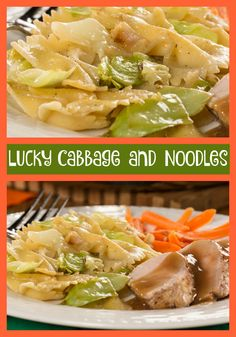 Need a last-minute dish to serve tonight? Well, it must be your lucky day 'cause our recipe for Lucky Cabbage and Noodles is a real crowd-pleaser!