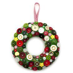 Corona tu puerta con este DIY de Navidad