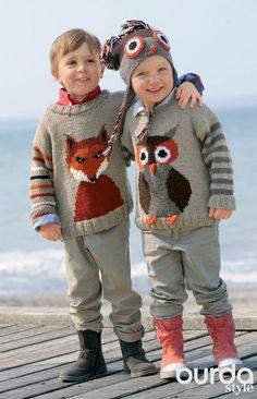 http://igmihrru.ru/MODELI/det/devoch/092/92.html Пуловер: Verena Модное вязание 5/ 2014/ 37 / Burdastyle