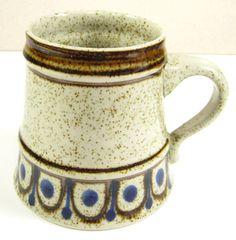 Vtg Topferei Wagner Stein Mug Germany Large Handmade | eBay