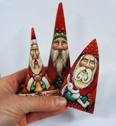 Scherer Santa Claus Miniature Dollhouse Art