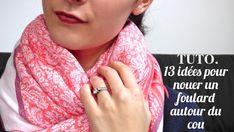 5f8d4a2351a9 53 meilleures images du tableau foulard   Scarves, Cowls et Sewing ...
