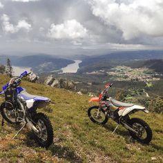 #tonupgarage #weekend #sunday #ride #enjoinglife #enduro #motocross #northofportugal #oporto #portugal #douro #river #readytogetbacktowork by tonupgarage