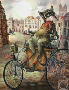 Il mondo di Mary Antony: I gatti teneri di Nadezhda Sokolova