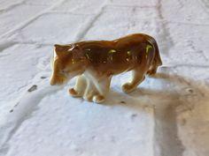 Vintage Porcelain Bear Figurine, Vintage Collectible, Home Decor by MuskRoseVintage on Etsy