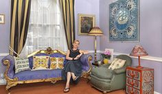 Bloomsbury legacy lives on in Cressida Bell's colourful London home | Design | Luxury | Homes and Property