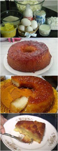 VOCÊ VAI SE DELICIAR COM ESSA RECEITA,APRENDA A FAZER!! VEJA AQUI>>>Em uma panela acrescente o açúcar demerara UNIÃO e a água. Misture e Leve ao fogo médio, sem mexer, até obter uma calda de caramelo.2) Desligue o fogo e distribua a calda em todo fundo e lateral da fôrma e reserve. #receita#bolo#torta#doce#sobremesa#aniversario#pudim#mousse#pave#Cheesecake#chocolate#confeitaria