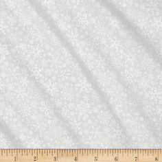 Season's Greetings Snowflakes White from @fabricdotcom  This cotton print is perfect for quilting, apparel and home decor accents. Colors include tone on tone white.