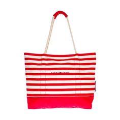 Tommy Hilfiger - Sac de plage rouge et blanc [La Baule