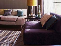 Canapeaua mov, o alegere inspirata