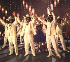 The Black and White Minstrel Show!