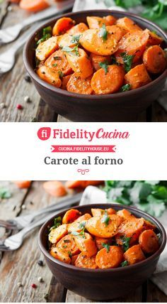 Carote al forno Vegetable Recipes, Vegetarian Recipes, Healthy Recipes, Cena Light, Italy Food, Light Recipes, International Recipes, Creative Food, Food Inspiration