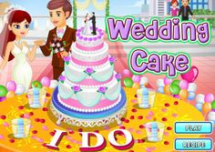 Wedding Season and are you looking to surprise the bride with a wedding cake? Then join fast this free online Cooking game get to learn the recipe and bake a grand beautiful and delicious wedding cake. Cake Games, Cooking Games, Play Food, Wedding Season, Beautiful Bride, Cake Recipes, Wedding Cakes, Birthday Cake, Baking