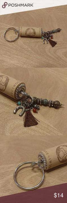 Wine Cork Keyring NWOT. Synthetic wine cork keyring. All new materials Accessories Key & Card Holders