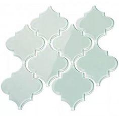 Kitchen Backsplash Arabesque Tile Design 51 Ideas For 2019 Backsplash Arabesque, Arabesque Tile, Kitchen Backsplash, Backsplash Ideas, Tile Ideas, Blue Backsplash, Kitchen Cabinets, Glass Subway Tile, Glass Mosaic Tiles