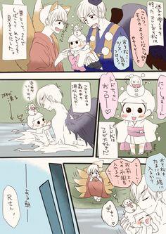 【妖怪松漫画】『雪ん子トドちゃんを育てる長兄』(六つ子) | びーたま