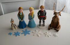 Frozen / Jégvarázs marcipán figurák, Baba-mama-gyerek, Mindenmás, Meska
