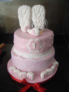 """""""Melek"""" Temalı Butik Doğumgünü Pastası.! Angel Birthday Cake.!"""