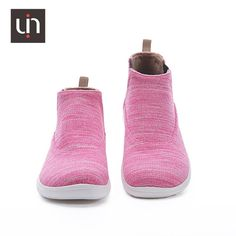 Spain original design, unique painted shoe style Breathable and soft insole, safe and smell free High elastic and soft EVA sole Super lightweight Flyknit and microfiber meterial, soft and comfortable Women's shoes Pink, Shoes, Collection, Women, Style, Swag, Zapatos, Shoes Outlet, Women's