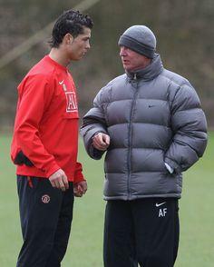 Sir Alex Ferguson says Cristiano Ronaldo will only get better.