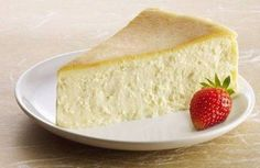 """""""Crustless Cheesecake"""" is a divine dessert that saves you from making a crust!"""