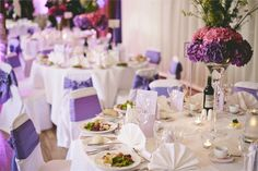 Table Layout at Teviot Row House, featured on hitched.co.uk