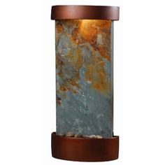 Kenroy Home #53238SL Midstream Indoor Table/Wall Fountain in Natural Slate with Copper Finish Accents by Kenroy Home, http://www.amazon.com/dp/B001V70JAM/ref=cm_sw_r_pi_dp_HjS7rb1PE6F2Q