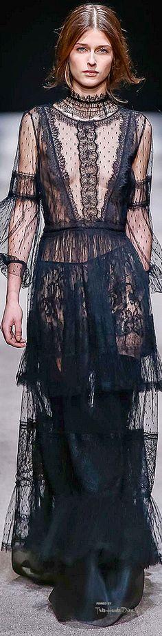 Milan Fashion Week.        Alberta Ferretti.         Fall 2015.         Ready To Wear.
