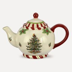 Beautiful Christmas teapot