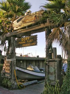 Founded in 1891 the Newport Beach Dory Fishing Fleet is located at the base of what used to be called McFadden Wharf, but is now known as the Newport Pier.