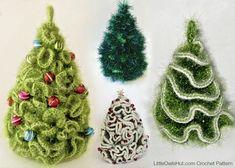 096 5 variants of Brainy X-mas Christmas tree  by LittleOwlsHut