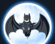 Batman & Krokmou, so cute <3
