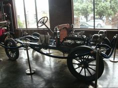 This is a 1911 marathon touring 35 hp .In 1911 two brothers called the heller bros went to a county fair at roseburg oregon and scraped up 50 cents each to buy a dollar raffle ticket and won this new car .The kids were 12 & 14 years old. the car and stayed in a barn till 1968 they gave the car to Joe Marshal a salesmen that would visit when on his sales routes .now at marathon motor works showroom in nashville tenn Marathon Motors, Roseburg Oregon, Motor Works, Raffle Tickets, Two Brothers, County Fair, 14 Year Old, Touring, Showroom