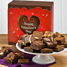 What I got the hubster for Valentine's Day. Shhh... The BEST brownies EVER!!