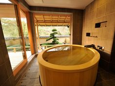 Relais & Chateaux - A stay in Gôra Kadan, the former retreat of the imperial family, Kanin-no-miya, in Hakone National Park, is an invitation to bring your five senses to life by immersing yourself in the ancient Japanese way of life. Gora Kadan JAPAN #relaischateaux #bath