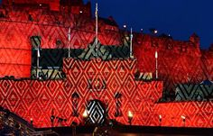Edinburgh Military Tatoo, totally awesome!!
